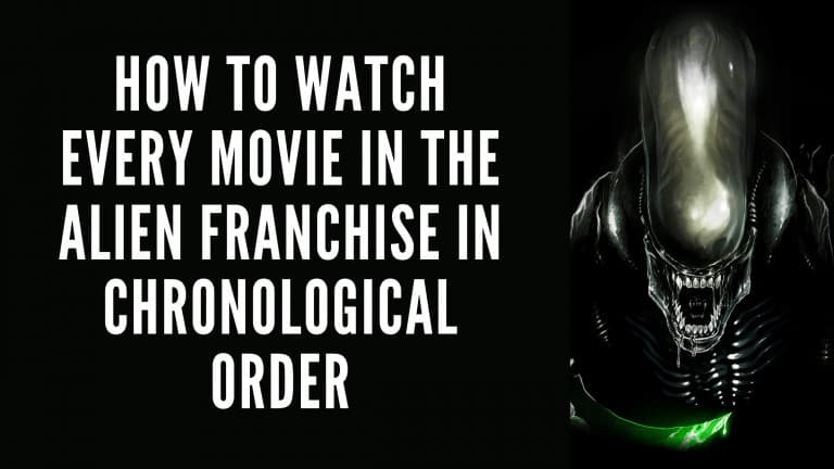 Watch the Alien Franchise Timeline in Chronological Order Including Movies, Series, Books & Video Games