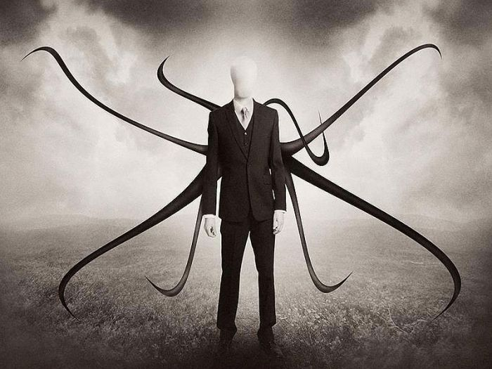 The notorious creepypasta, Slender Man