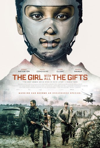 the girl with all the gifts movie poster