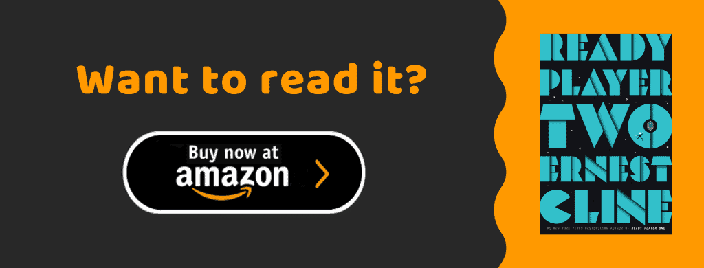 Amazon ad for Ready Player Two book