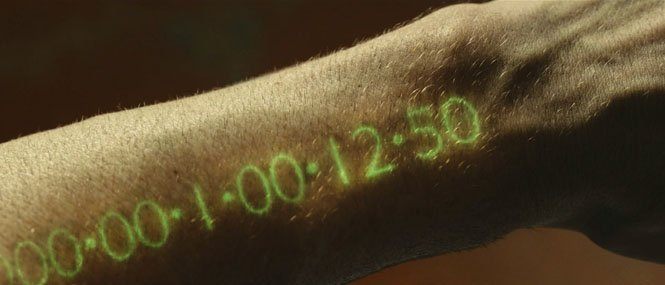 Arm life timer from In Time