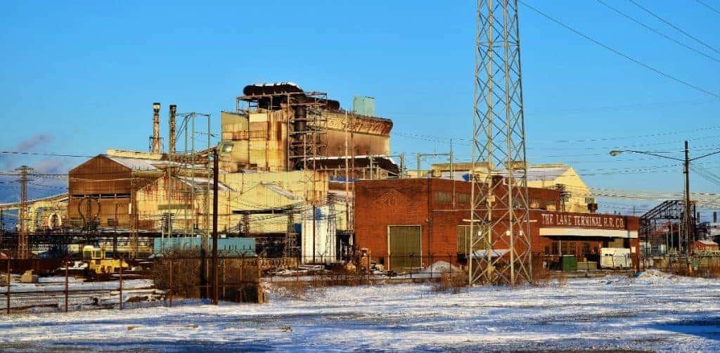 Rustville USA (AKA Lorain, OH) Steel Mill by MARCIN OLEKSY