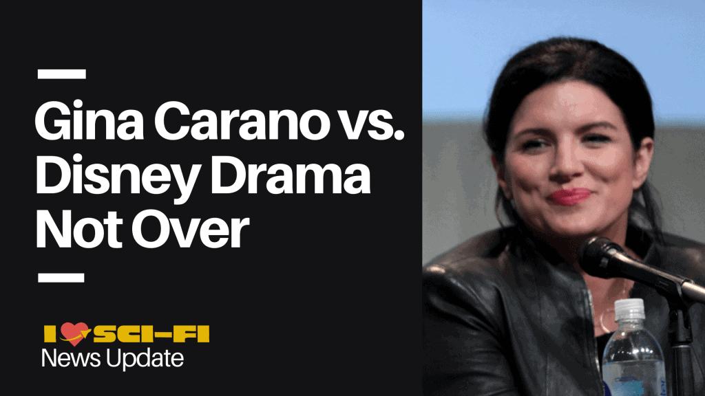 Gina Carano vs. Disney Intense Drama Not Ending Any Time Soon